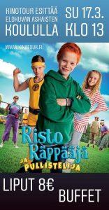 Risto Räppääjä elokuva-koululla @ Askaisten koulu